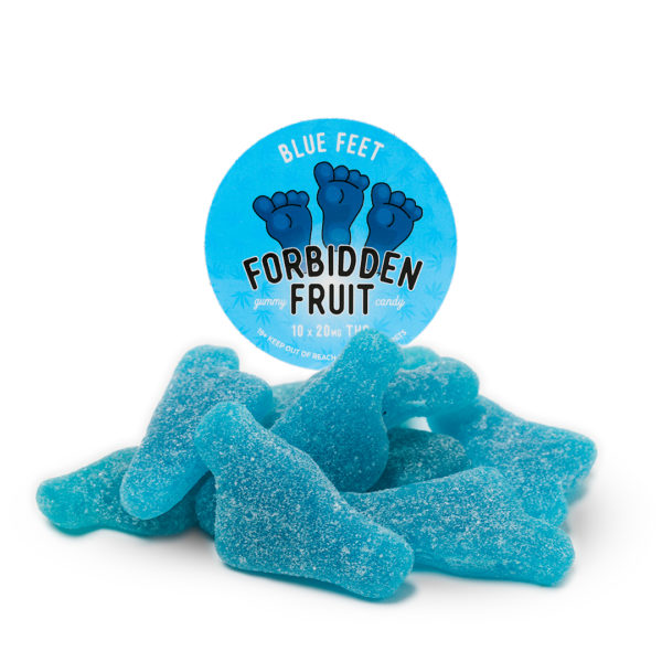 Gummies Blue Feet