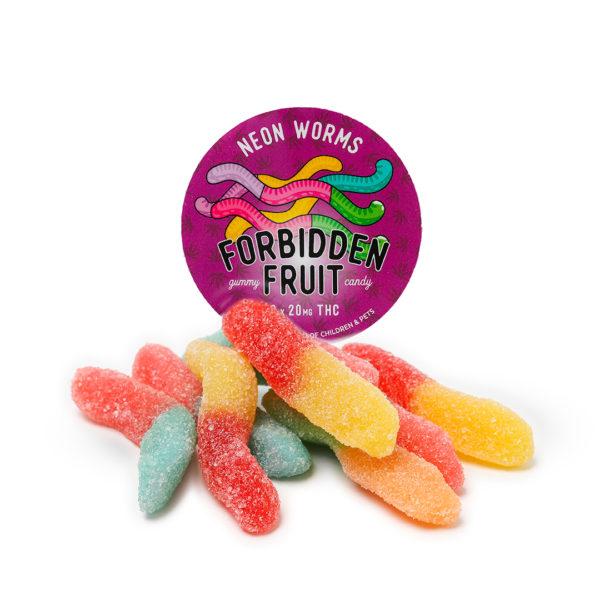 Neon Worm Gummies