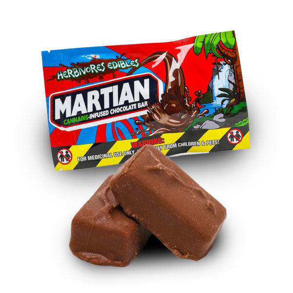 Martian Chocolate Bar Edible