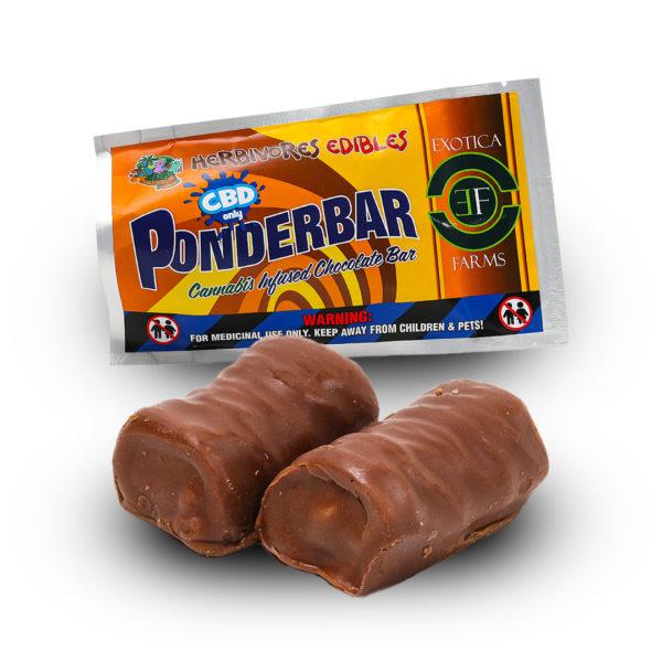 Ponderbar CBD Chocolate Bar