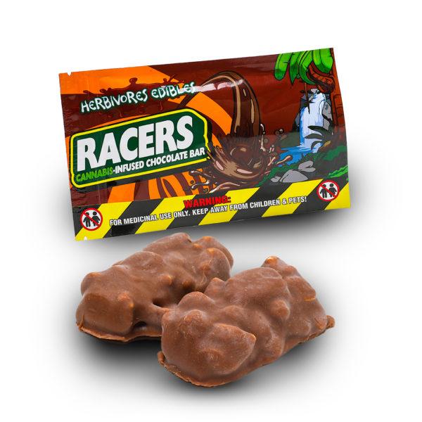 Racers Chocolate THC Edible Bar